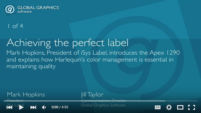 Achieving the perfect label - video